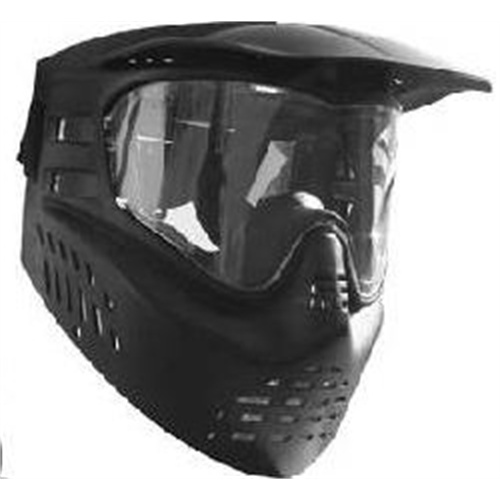 GXG Paintball Stealth Anti Fog Goggle Mask Black by
