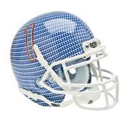Schutt NCAA Tulsa Golden Hurricane Mini Authentic XP Football Helmet, Carbon Fiber Alt. 1