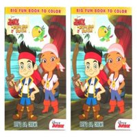 """Disney Jake And The Never Land Pirates 96 Pg """"Lets Go Crew"""" Coloring & Activity Book (2 Pack) # 861852-Lets-2pk"""