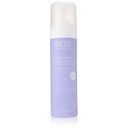 EOS Evolution of Smooth Shave Cream Lavender Jasmine 7 Oz (The Art Of Shaving Cream Lavender)
