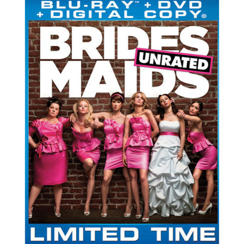 Bridesmaids (Unrated/Rated) (Blu-ray + DVD) (With INSTAWATCH)