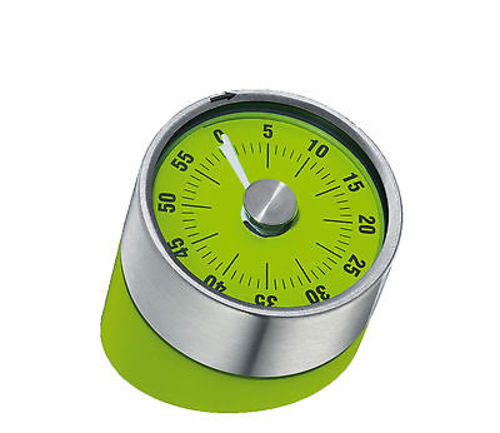 """Cilio """"Tower of Pisa"""" Mechanical Kitchen Timer - Green"""