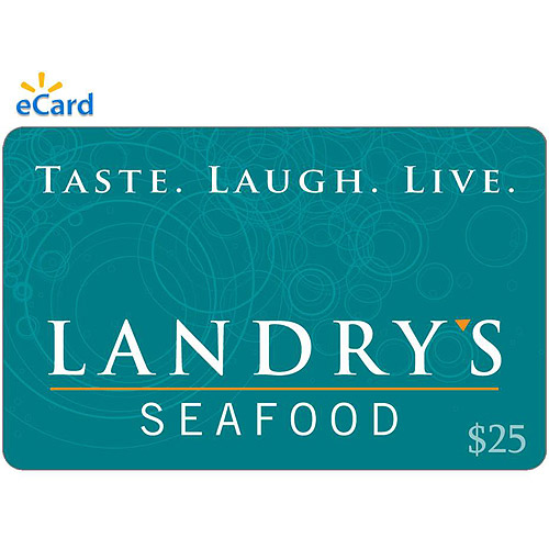 (Email Delivery) Landry's Seafood $25 eGift Card