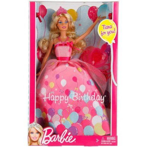 Barbie Birthday Princess Doll