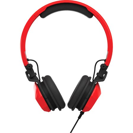 Cyborg F.R.E.Q. M Headset - Stereo - Red - Mini-phone - Wired - 20 Hz - 20 kHz - Over-the-head - Binaural - Circumaural