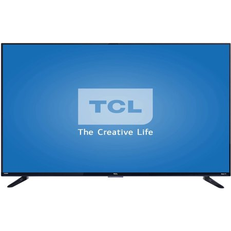 Refurbished TCL Roku 55″ Class – 4K Ultra HD, Smart, LED TV – 2160p, 120Hz (55US57)
