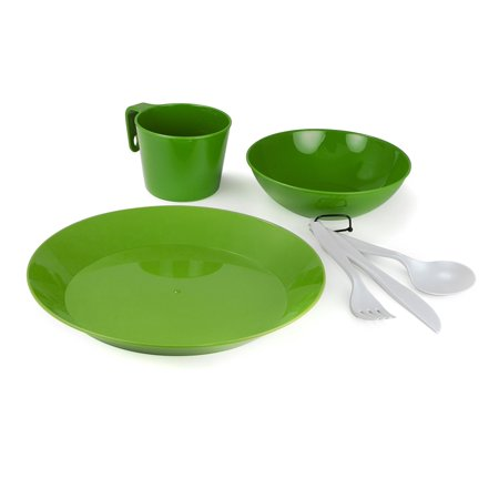 Outdoors Cascadian 1 Person Tableset, Cascadian One Person Tableset is made of light polyproptlene..., By GSI Ship from US