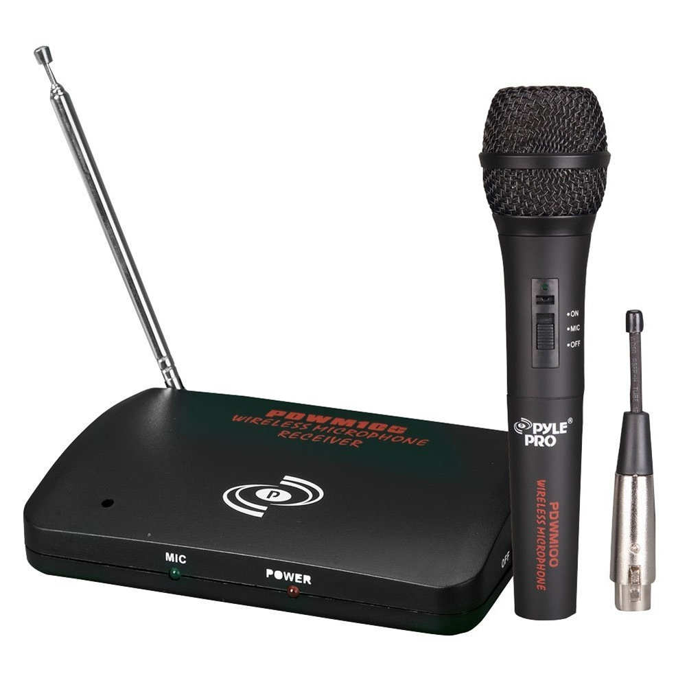Pyle Pro PDWM100 Dual Function Wireless Microphone System