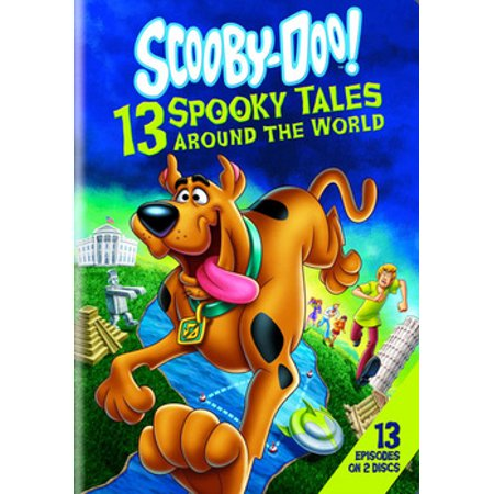 SCOOBY-DOO-13 SPOOKY TALES AROUND THE WORLD (DVD/2 DISC) (Street Food Around The World Tv Show)