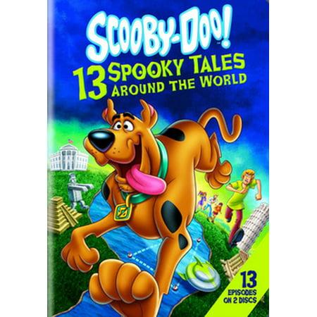 Halloween Around The World Cartoon (SCOOBY-DOO-13 SPOOKY TALES AROUND THE WORLD (DVD/2 DISC))