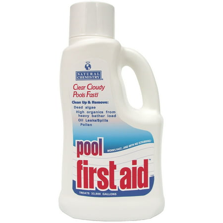 Natural Chemistry's Pool First Aid (2) - 2 liter Bottles