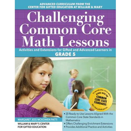 Challenging Common Core Math Lessons (Grade 5)