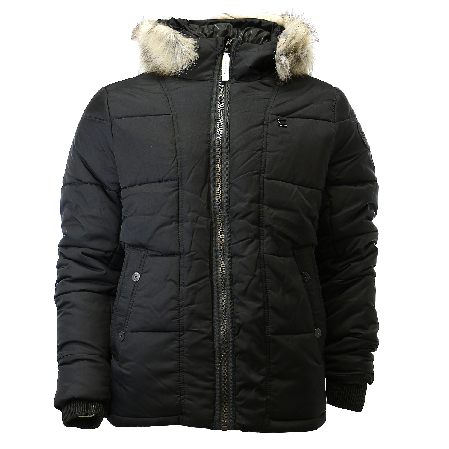 G-Star Whistler Hooded Fur Insulated Winter Jacket Mens by G-Star