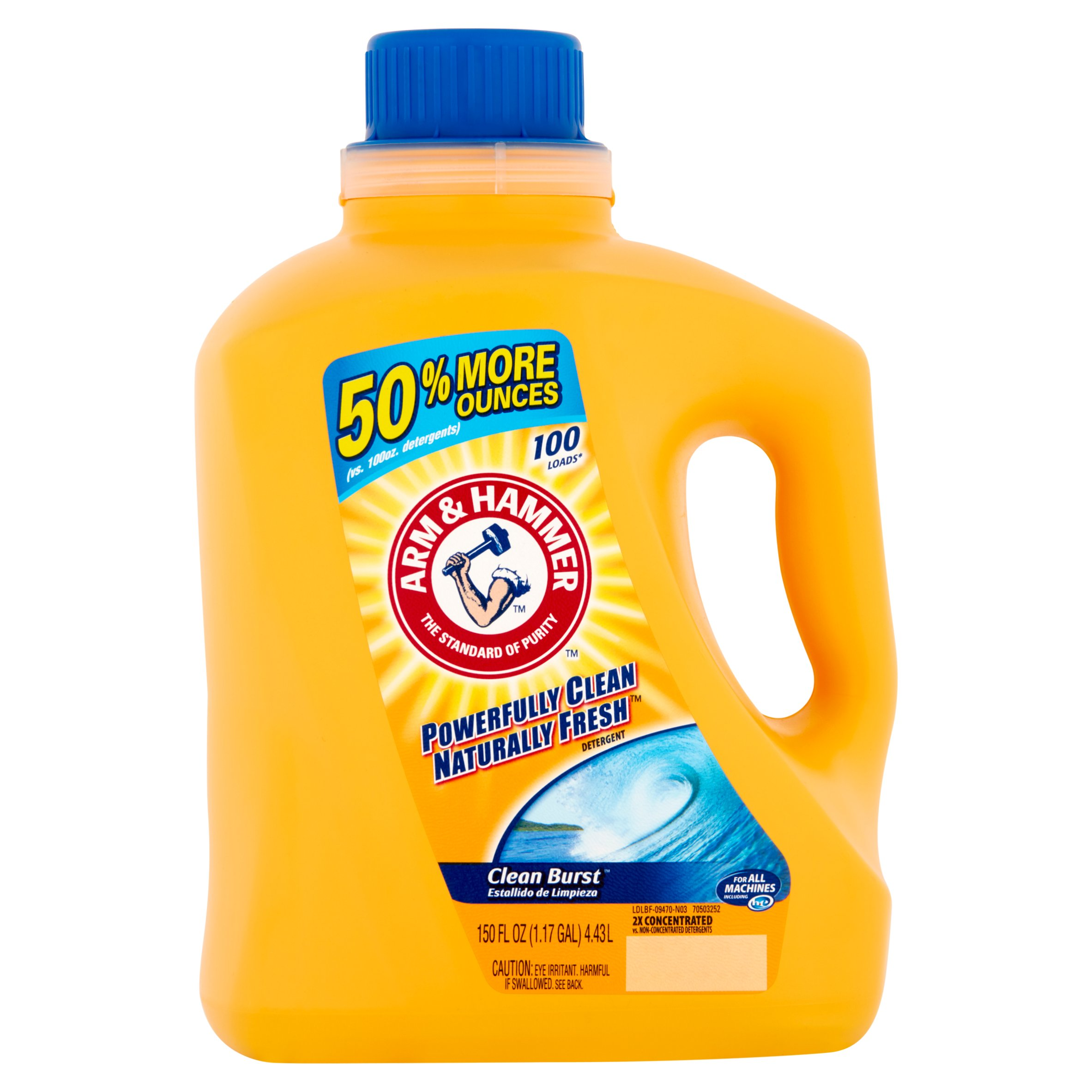 arm and hammer laundry detergent arm amp hammer 2x concentrated liquid laundry detergent 28419