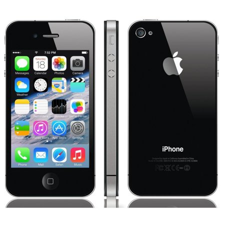 Apple iPhone 4s Unlocked 16GB - Black (Grade B) (Best Ios For Iphone 4s 2019)