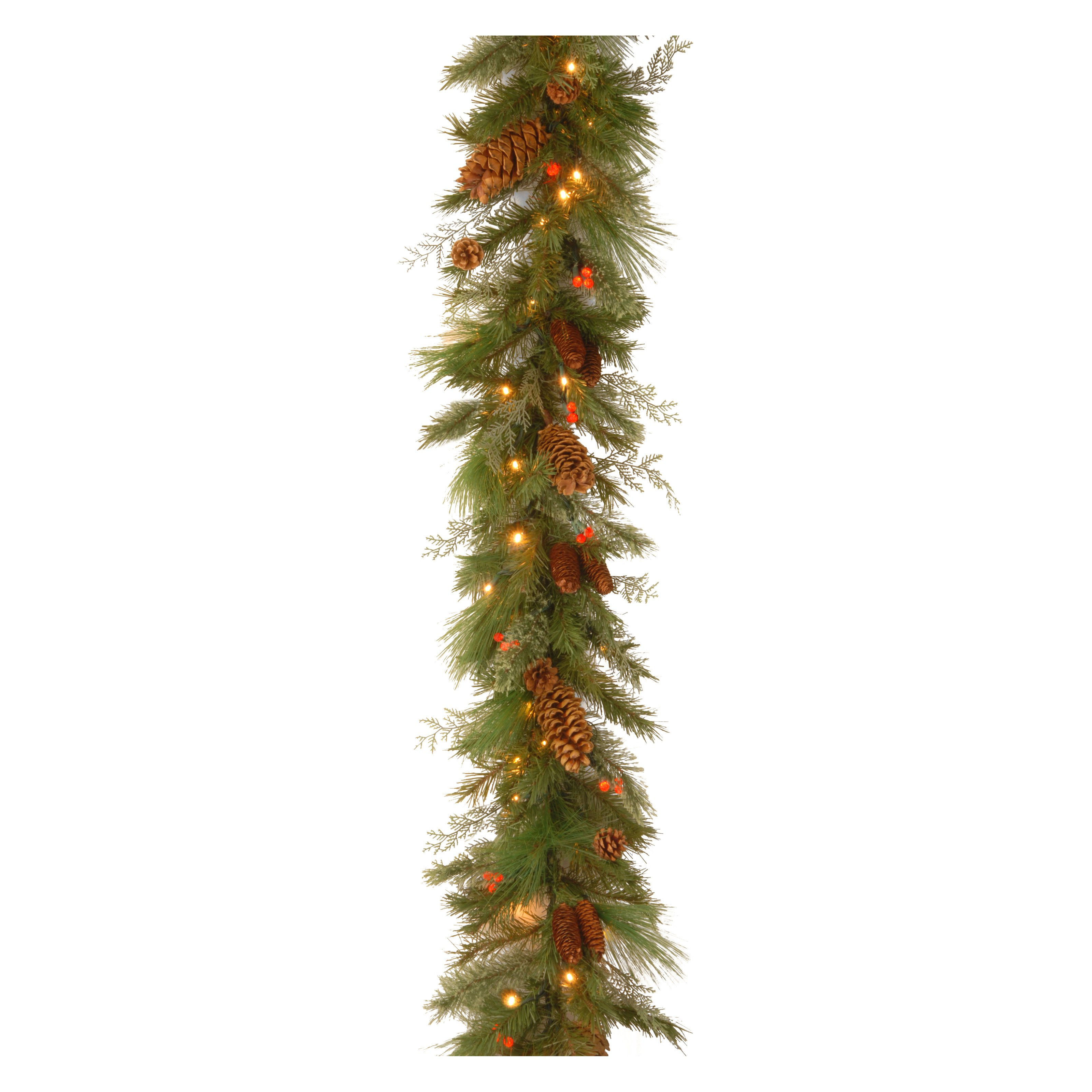 "National Tree 6' x 12"" Decorative Collection White Pine G..."