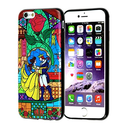 Ganma Beauty and the Beast Rubber Case For iPhone 8 (4.7