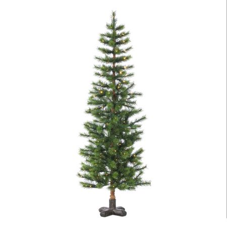 Intrinsic Spruce Green (The Holiday Aisle Hard Mixed Needle 5' Green Spruce Artificial Christmas Tree with 250 Clear White Lights with Stand )