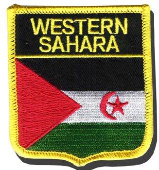 Western Sahara Shield Patch