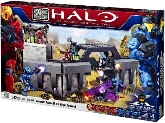Halo Versus: Assault on High Ground Set Mega Bloks 96967 by