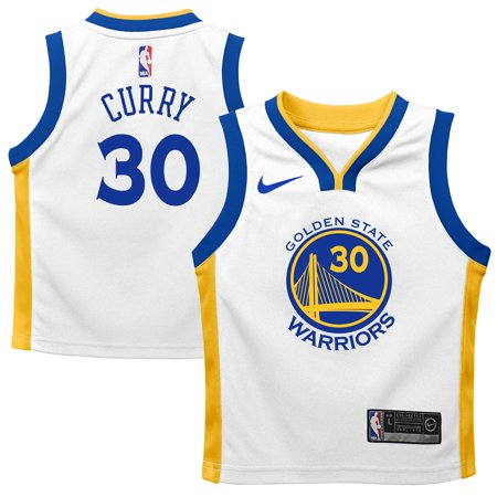 huge selection of 23f04 9162b Stephen Curry Golden State Warriors Nike Preschool Replica Jersey White -  Association Edition