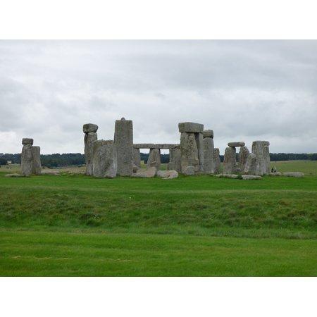 - Laminated Poster Stone Circle Stonehenge England Britain UK Circle Poster Print 11 x 17