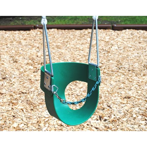Creative Playthings Belted Toddler Swing with Rope