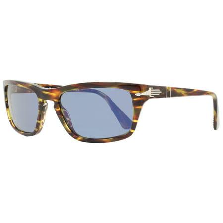e4f965d4b8 Persol - Persol Rectangular Sunglasses PO3074S 938 56 Size  55mm Striped  Brown Green - Walmart.com