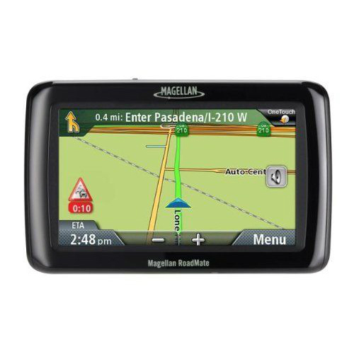 Refurbished Magellan Roadmate RM9250SGLUC 9250T-LMB (US, Canada & Puerto Rico) 7 inch Bluetooth Enabled Automotive GPS