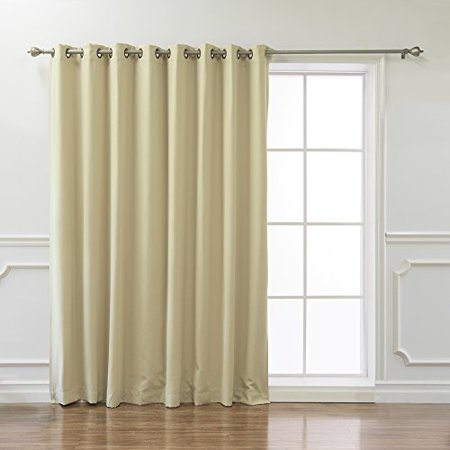 Classic Design Thermal Insulated Blackout Curtain - Easy to Care Machine