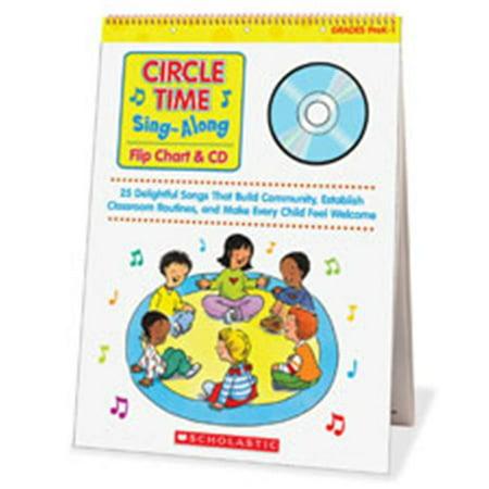 Scholastic Teaching Resources SHS0439635241 Circle Time Sing-Along Flip Chart - image 1 de 1