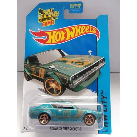 2014 Hot Wheels Hw City 23/250 - Nissan Skyline 2000GT-R [Ships in a Box!], Hot Wheels Nissan Skyline 2000GT-R! By Mattel