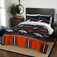Denver Broncos The Northwest Company 5-Piece Full Bed in a Bag Set