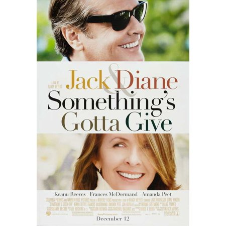 Somethings Gotta Give Poster Movie B  27X40