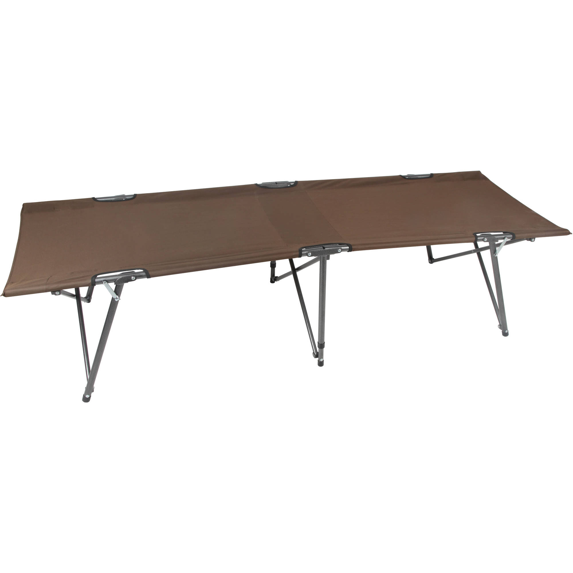 Ozark Trail Basic Comfort Folding Cot, Brown by WESTFIELD OUTDOOR INC