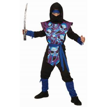 Boys Ghost Ninja Halloween Costume](Halloween Ghost Tours Chicago)