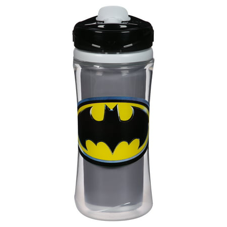 Playtex Sipsters Batman Stage 4 Insulated Sport Spout Sippy Cup 12oz 1-Pack Assorted Patterns - Batman Cup