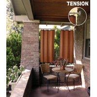 Versailles' Green Room 3/4in Stainless Steel Duo Tension Rod - Indoor / Outdoor (28in - 48in)