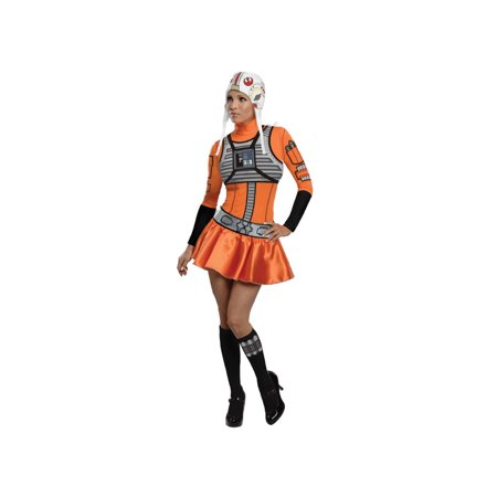 Star Wars Adult X Wing Pilot Sassy Costume By Rubies 887140