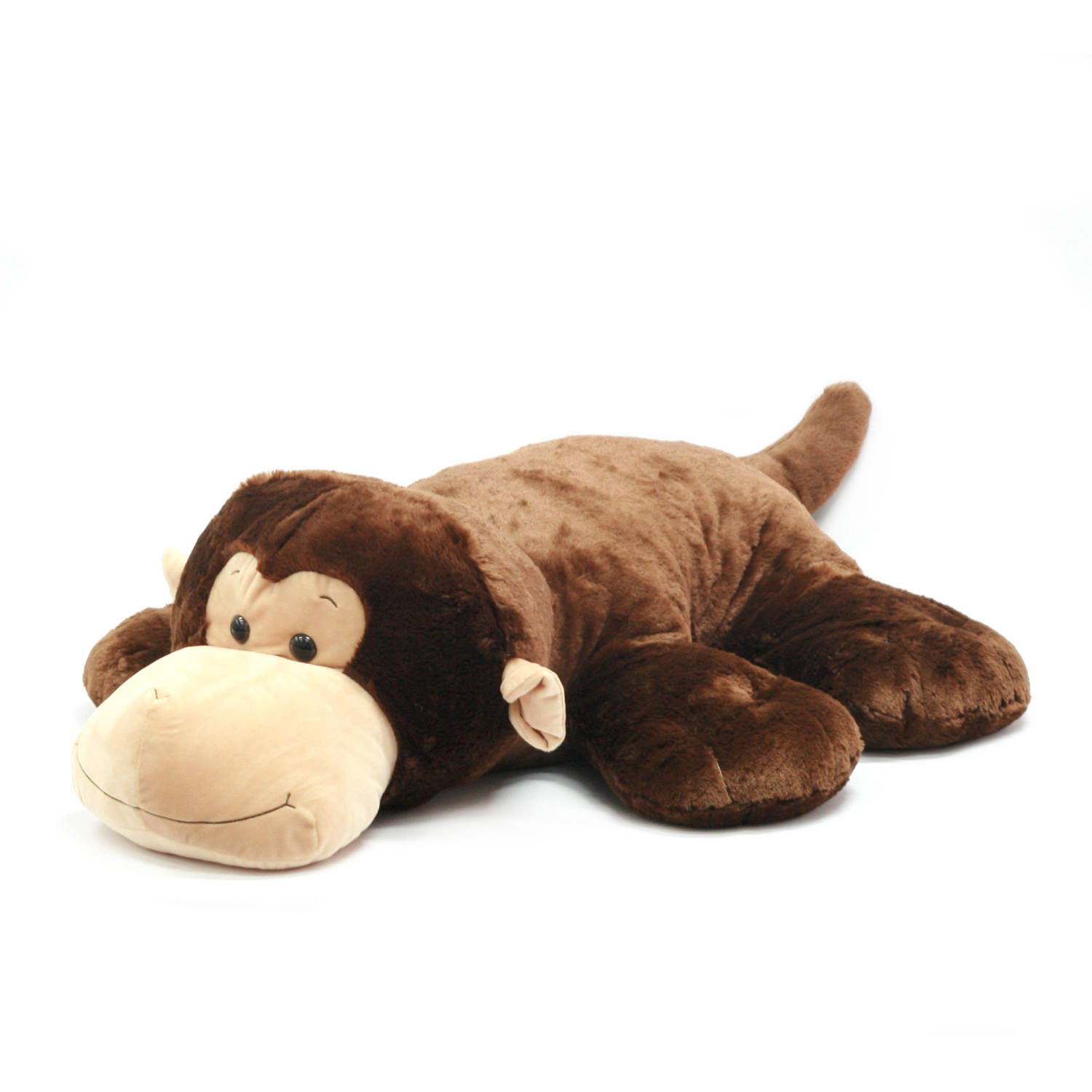 "Spark 44"" Stuffed Plush Fluffy Floppy Animal, Monkey"