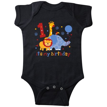 Safari 1st Birthday Infant Creeper