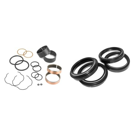 (MSR Fork Bushing with Oil & Dust Seals Kit for Yamaha WR250R DUAL SPORT 2008-2016)