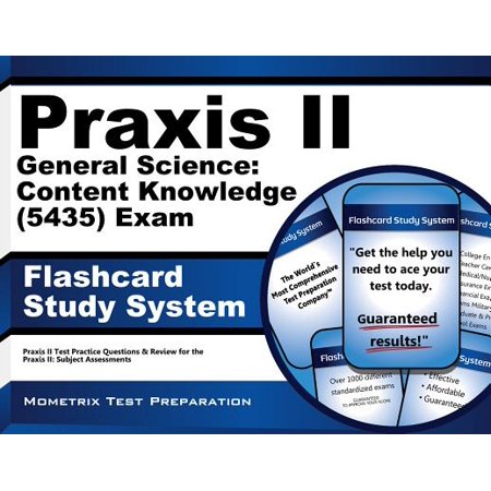 Praxis II General Science: Content Knowledge 0435 Exam Flashcard Study System