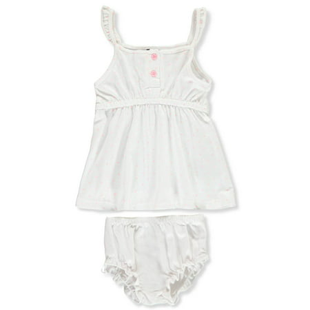 Sweet & Soft Baby Girls' Dress with Diaper -