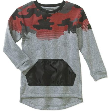 Blac Label Boys' Camo Fleece Long Sleeve Sweatshirt thumbnail