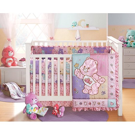 Care Bears 4 Piece Crib Bedding Set