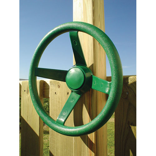 Gorilla Playsets Green steering Wheel