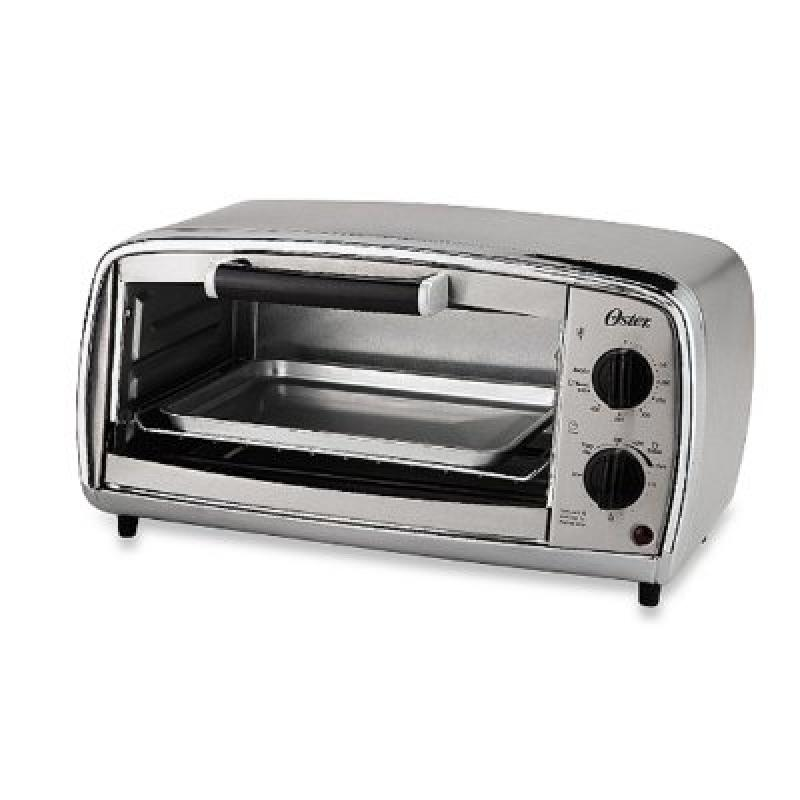 Oster? 4-slice Stainless Steel Toaster Oven