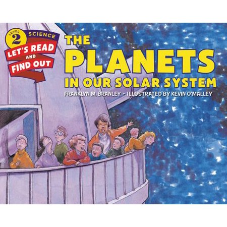 Let's-Read-And-Find-Out Science 2: The Planets in Our Solar System - Solar System Planet Cutouts