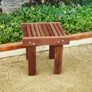 Best Redwood Sun Side Table